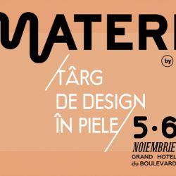 Prima editie Materia  targ de design in piele